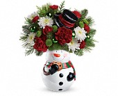 Click to order the Snowman Cookie Jar