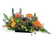 Click to order the Visions of Autumn Oval Centerpiece